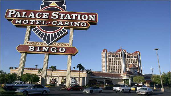 palace station hotel casino sign