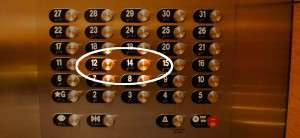 hotel zonder 13e verdieping
