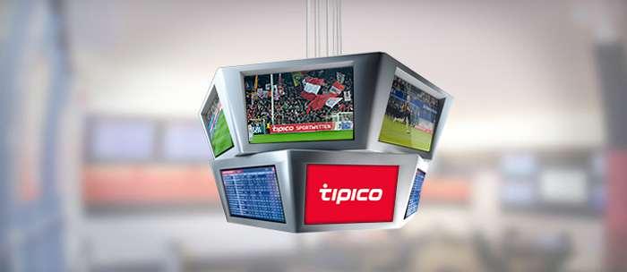 Afbeelding Tipico website