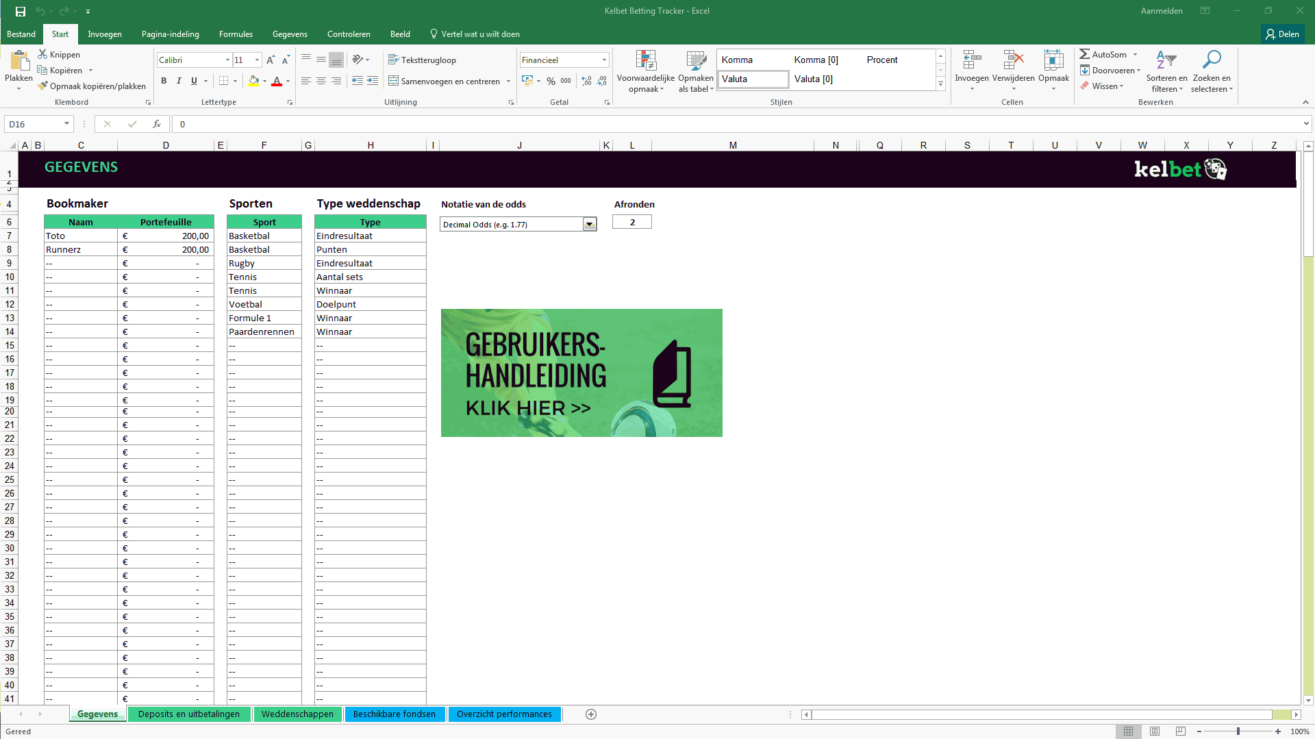 Kelbet betting tracker screenshot 1