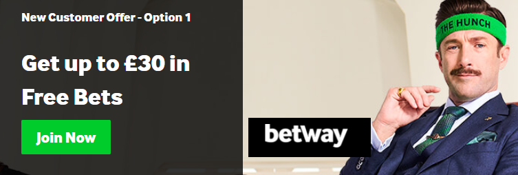 Betway welkomstbonus sport